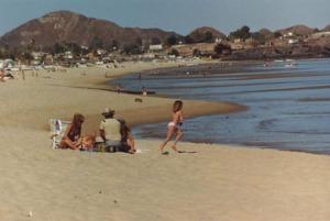 San Felipe Girl on beach