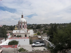 Overlooking Pozos