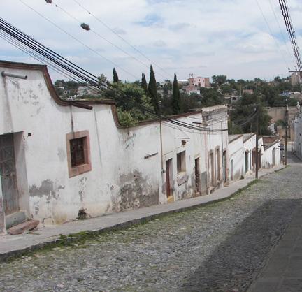 Pozos side street