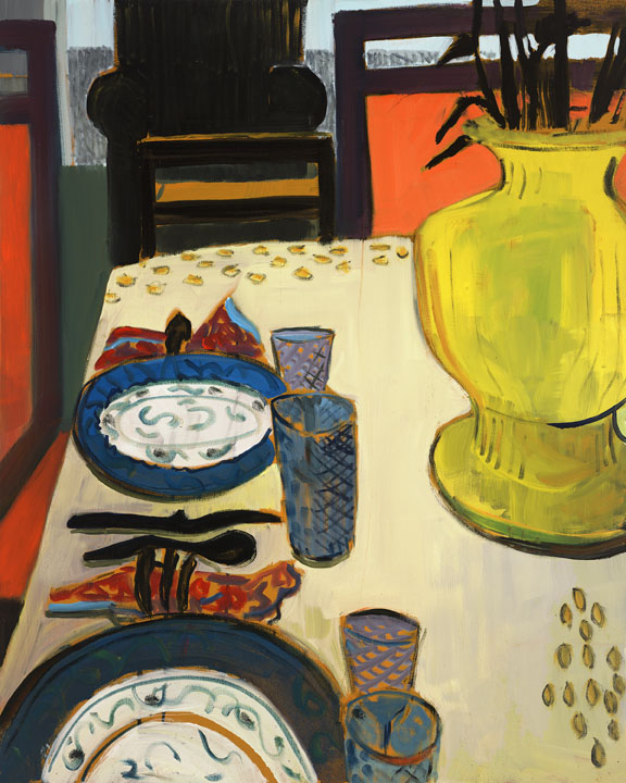 Still Life with two plates