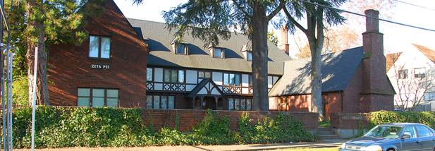 Zeta Psi Fraternity House