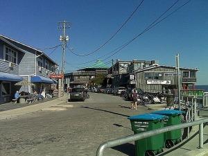 Cedar Key business area
