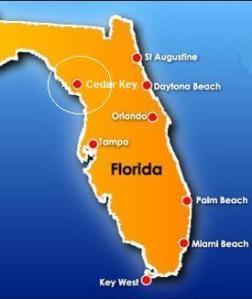 Cedar Key Map