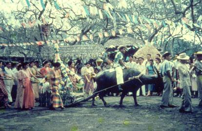 Philippines wedding procession