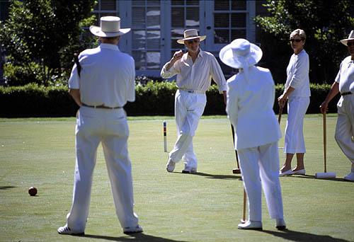 croquet lesson