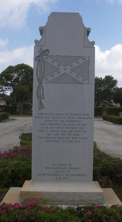 Monument to Confederacy