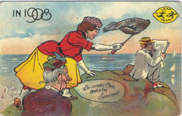 Leap Year Be Careful Clara 1908
