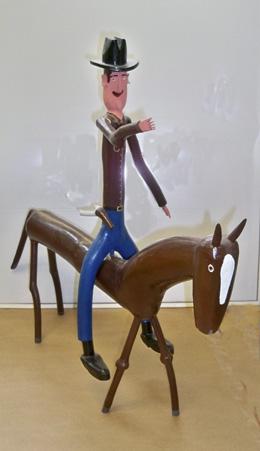 C. Cooper Mounted Cowboy