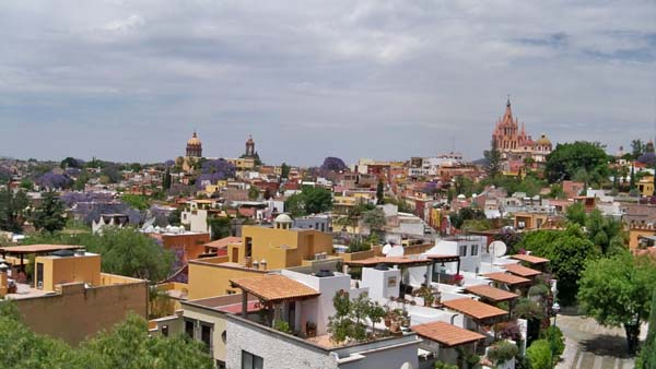 panoramic view of Centro