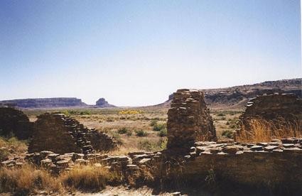 chaco canyon vista