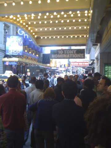 Theater District Crowd