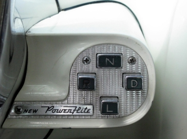 Chrysler push button shifter