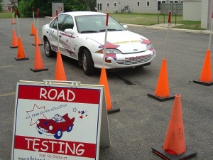 paralell parking test