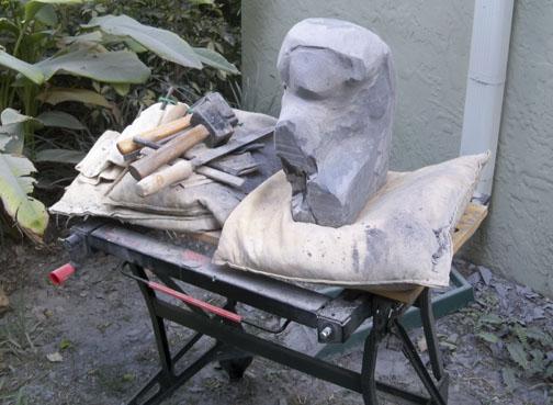 Shaped stone