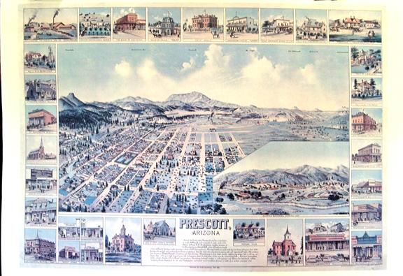 Prescott Map 1891