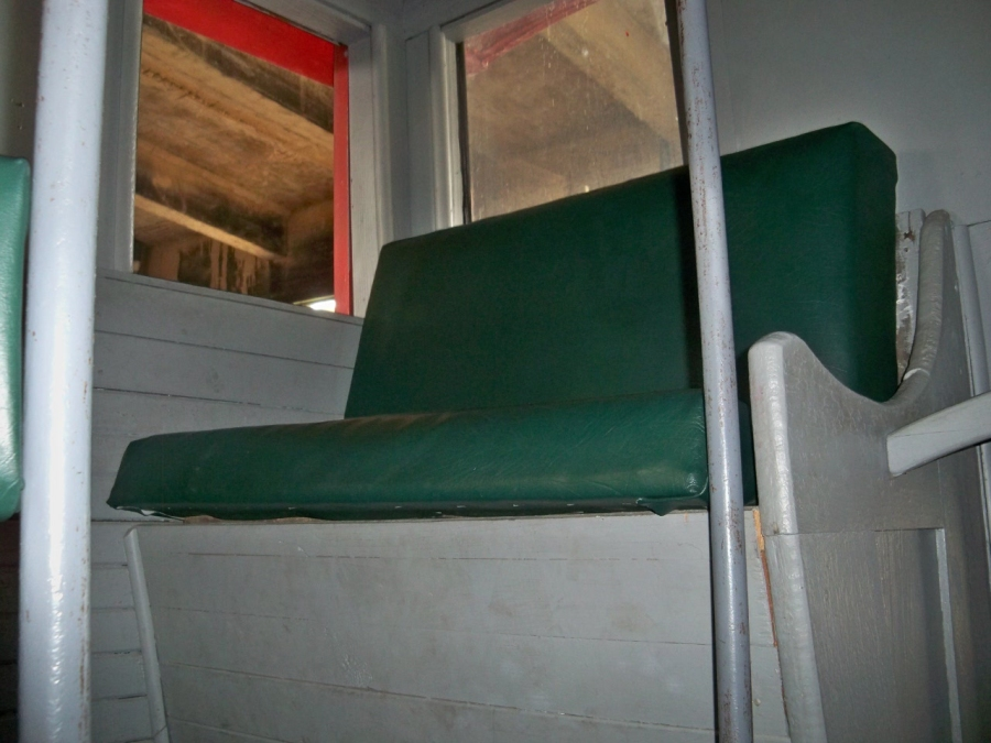 Caboose bench