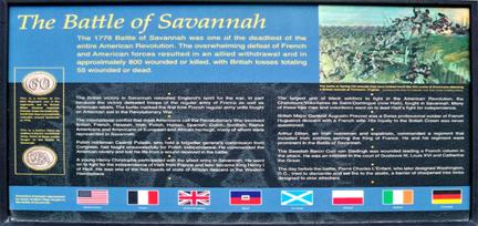 The Battle of Savannah
