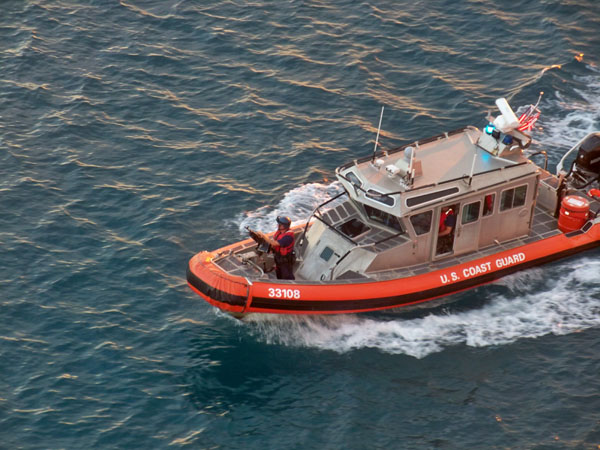 Coast Guard Escort
