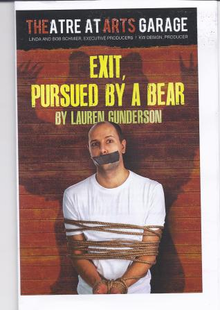 Program for Exit, Pursued by a Bear