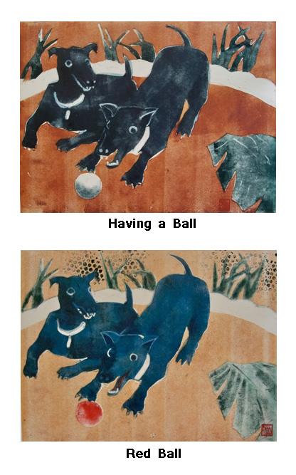 Having a Ball and Red Ball