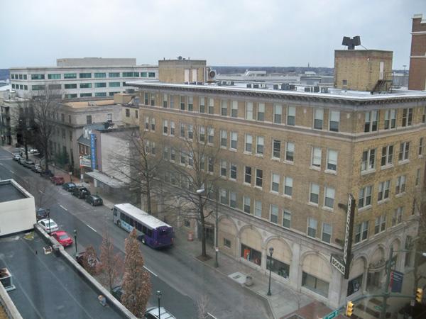Richmond Hotel view