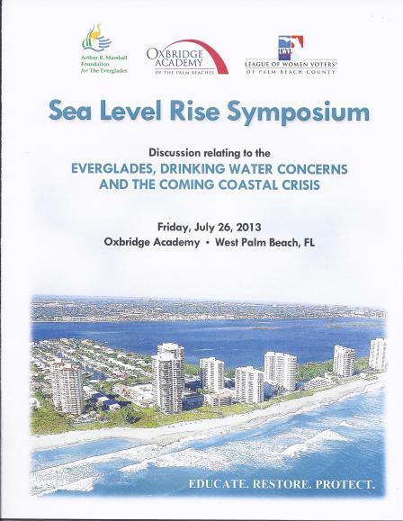 Sea Level Rise Symposium