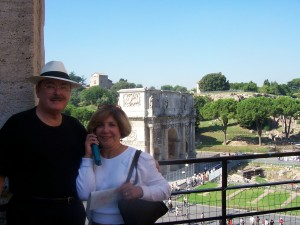 Tom  and Jeanette Arch of Hadrian