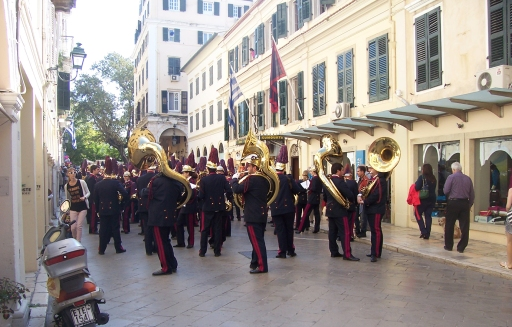 Corfu  marching band