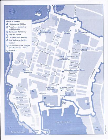 Dubrovnik City Plan