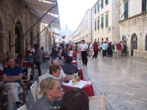 Restaurants on the Placa (Main Street)