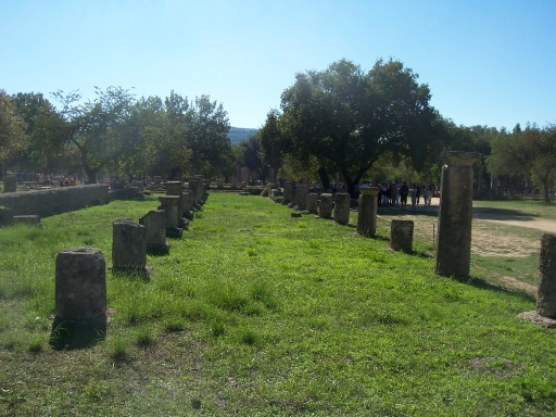 Olympia Expansive ruins