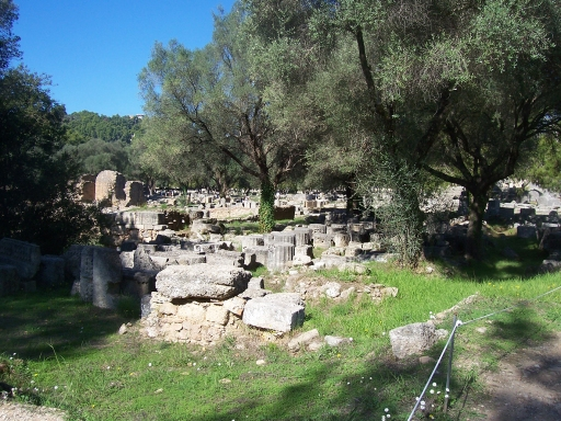 Olympia extensive ruins