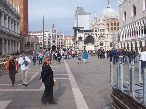 Doge's Palace on the right