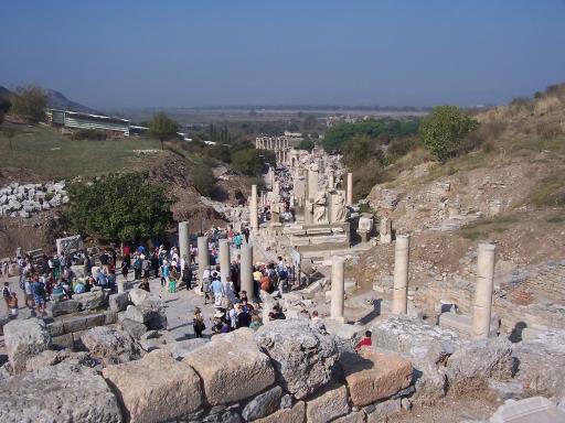 Ephesus  Main roadway