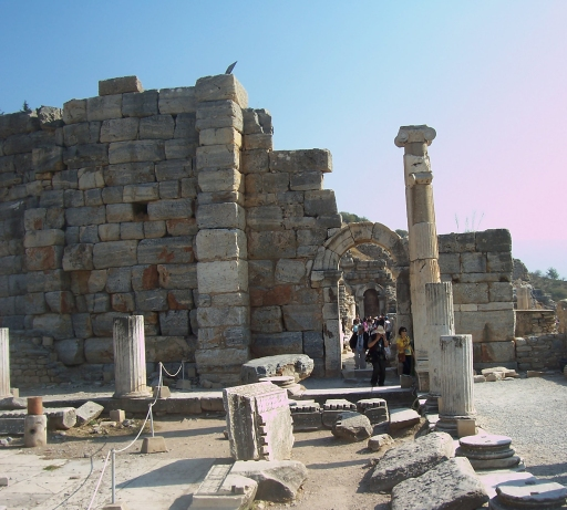 Ephesus Ruin near public bath