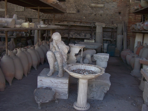 Pompeii  Storage and bodycast