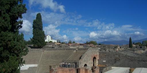 Pompeii  vista scene