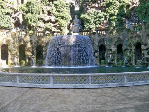 smaller fountain