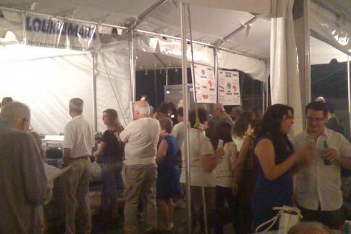Greek Festival Food Line