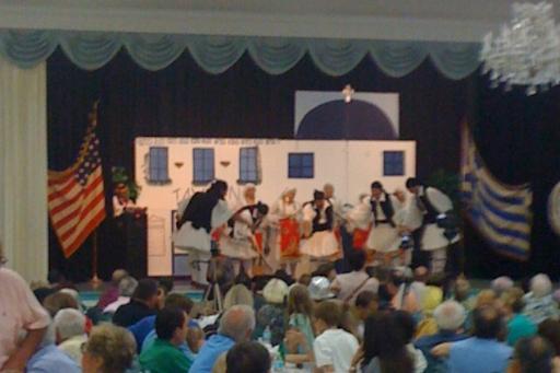 Greek Festival traditional Dancers