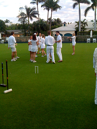 Young Members Croquet