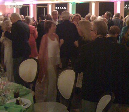 The Dance Floor was Mobbed