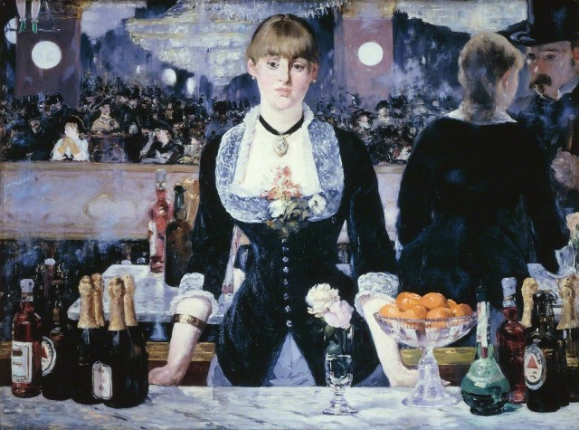 A Bar at the Folies-Bergerè, 1881-82 Édouard Manet