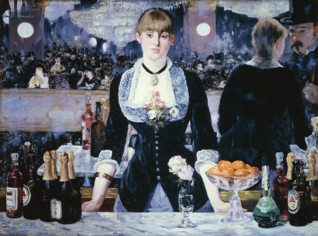 A Bar at the Folies-Bergerè, 1881-82 Édouard Manet