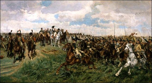 Friedland, 1807  by Ernest Meissonier