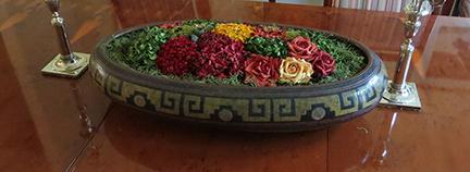 Michoacán oval bowl