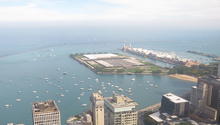 Chicago Harbor and Navy Pier