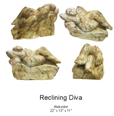 Reclining Diva