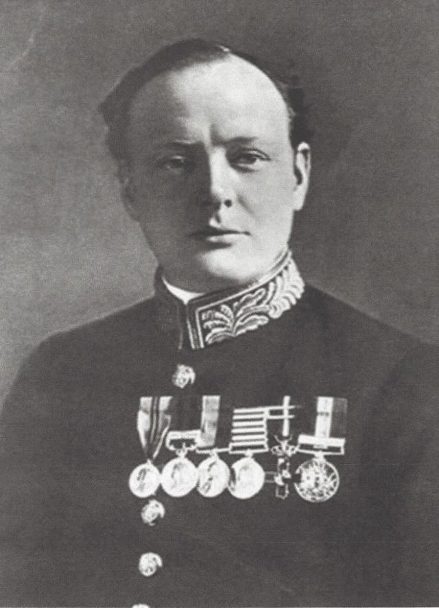 Winston Churchill 1899