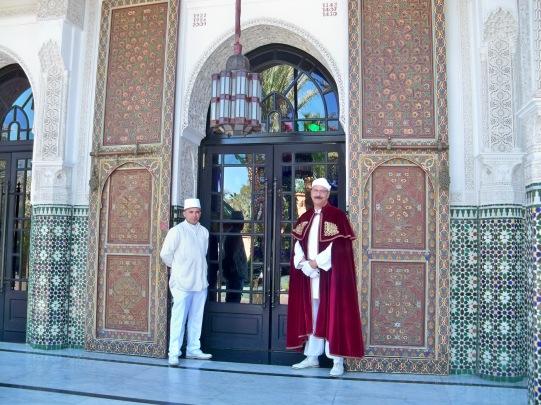 Doormen at the hotel